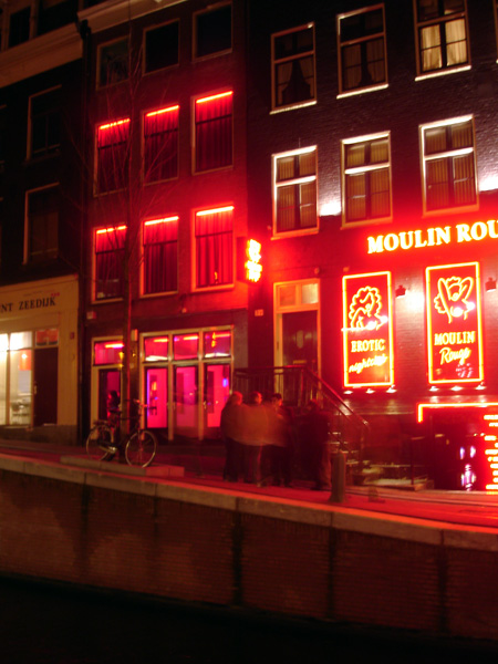 [- Barrio Rojo -] Red-light district, Amsterdam (Paises Bajos) | 1/12/2007