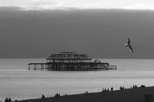 Old Chain Pier, Brighton (Reino Unido)